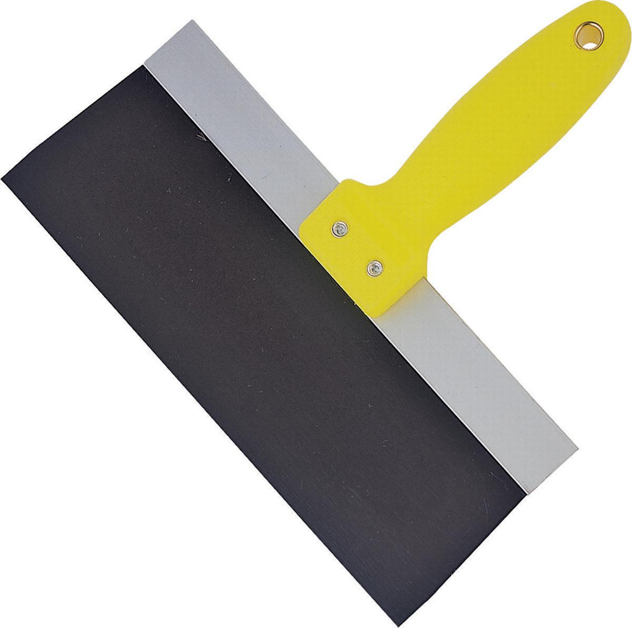 ProSource 37002Y3L Drywall Taping Knife, 10 in W x 3 in L, Steel Hi-Visibility Steel