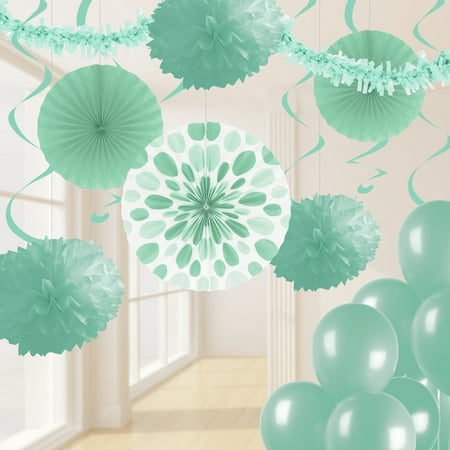 Mint Green Party Decorations Kit