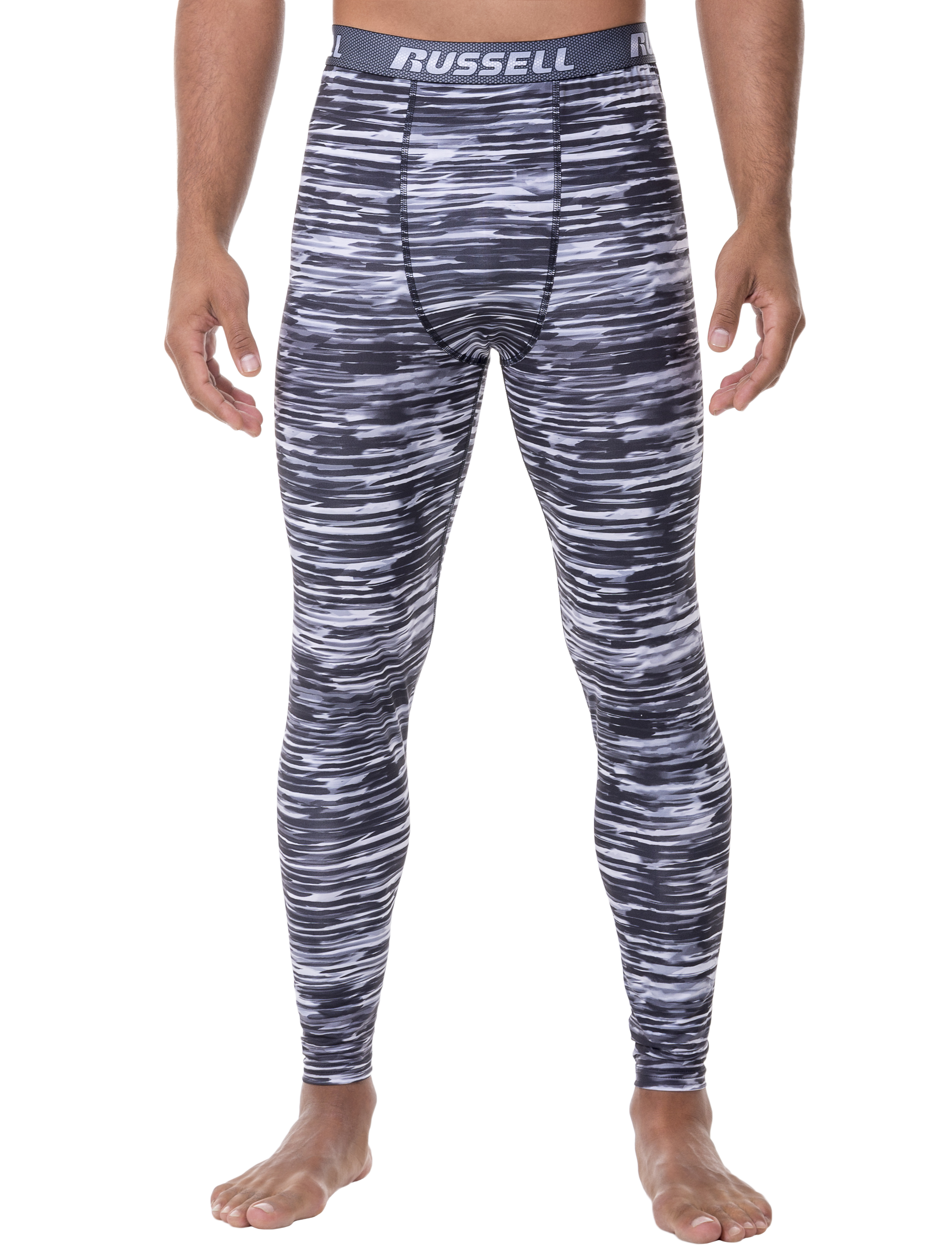 Russell Men's Voltage Performance Baselayer Thermal Bottom by Intradeco
