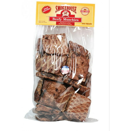 Smokehouse Beef Rolls (Smokehouse 100-Percent Natural Beef Munchies Dog Treats,)