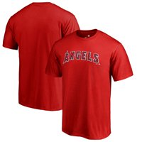dc163736a73 Product Image Los Angeles Angels Fanatics Branded Team Wordmark T-Shirt -  Red