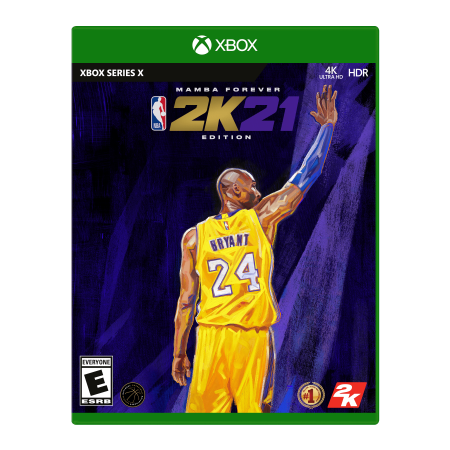 NBA 2K21 Mamba Edition, 2K, Xbox Series X, 710425597169