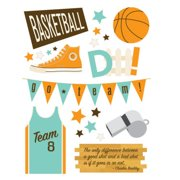 BASKETBALL Embellishment Pack Making Memories Design