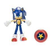 Sonic The Hedgehog - Modern Sonic with Star Spring - 4 Inch Action Figure