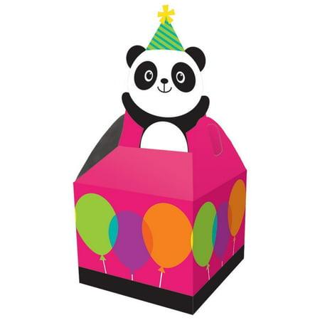 Panda-Monium Favor Box, 8 ct
