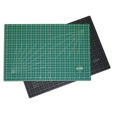 "Adir Self Healing Cutting Mat Reversible Green/Black 24""x36"" ADICM2436"