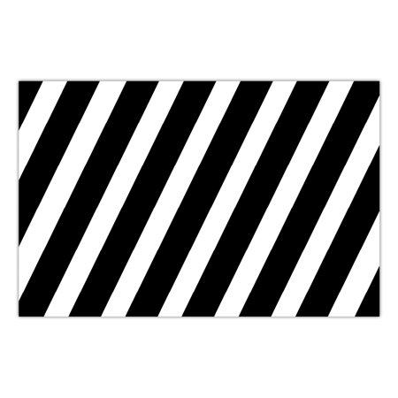 DB Party Studio Paper Placemats 25 Pack Bold Stripe Graduation Birthday Parties Anniversary Retirement Event Easy Cleanup Disposable Lunch Dinner Dining Place Mats Table Setting 17