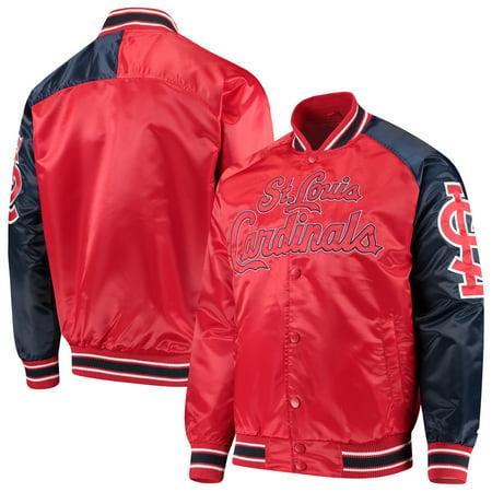 St. Louis Cardinals G-III Sports by Carl Banks Starter Dugout Spring Training Raglan Full-Snap Jacket -