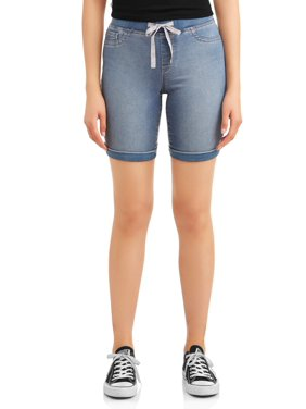 1477d19fb7 Product Image Juniors' Pull-On Bermuda Soft Shorts