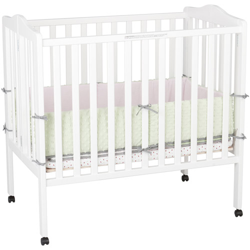 Delta - Fold Away Portable Crib, Choose Your Finish