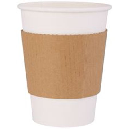 Renown Kraft Coffee Sleeve, 1,000 Per Case