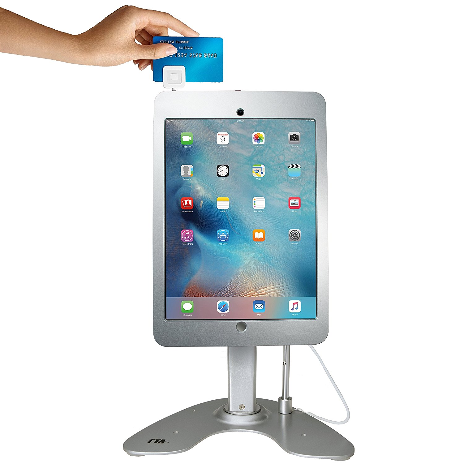CTA Digital Anti-Theft Security Kiosk Stand for iPad Pro 12.9