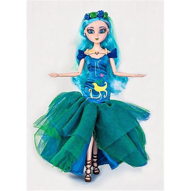 ZeenieDollz 8ZEENDLZ-ZEN-ST Zennia Mother Earth Doll - image 1 of 1