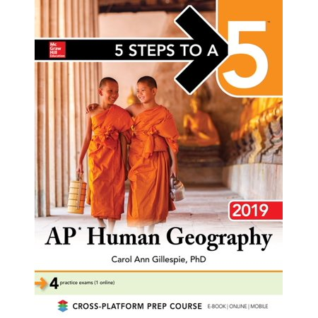 5 Steps to a 5: AP Human Geography 2019 - eBook