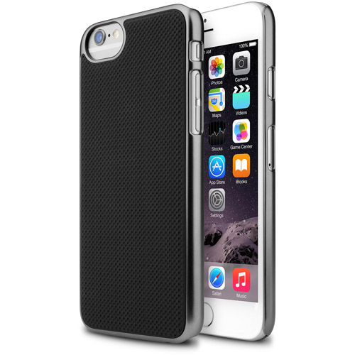 The Macbeth Collection MI-PH606-101 Apple iPhone 6/6S Hardshell Case, Executive Black