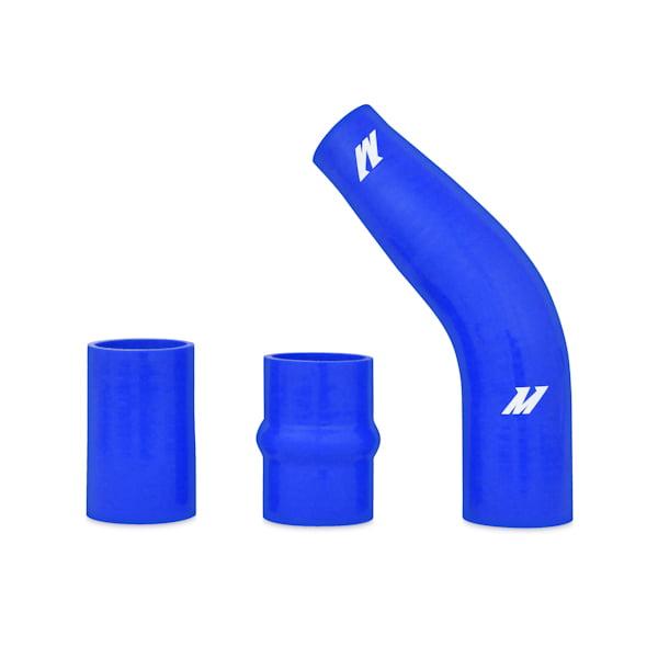 Mitsubishi Evo X Blue: Mishimoto MMICP-EVO-10UBL Upper Intercooler Pipe Kit Fits
