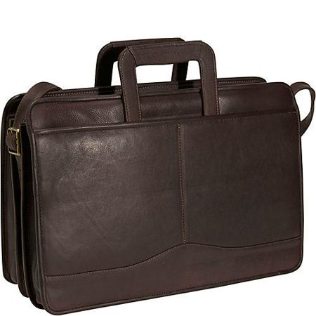 David King Leather Unisex 134 Triple Gusset Drop Handle