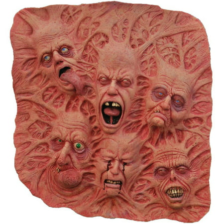 2' x 2' Slate Of Souls Latex Wall Decoration Halloween Prop