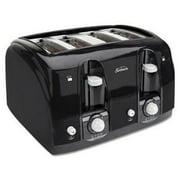 Sunbeam Extra Wide Slot Toaster, 4-Slice, Black