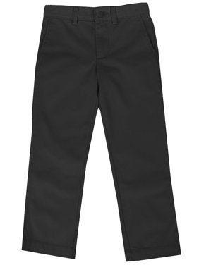 Boys Flat Front School Uniform Pants(Littile Boys)