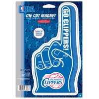 "LA Clippers WinCraft Foam Hand 6"" x 9"" Car Magnet"