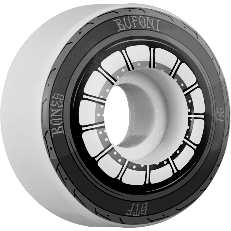 Bones Wheels Bufoni STF Harley 54mm Skateboard Wheels (Set of 4) by