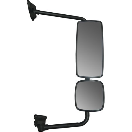 - Freightliner M2 Side View Mirror Assembly with Chrome Housing, Passenger Side