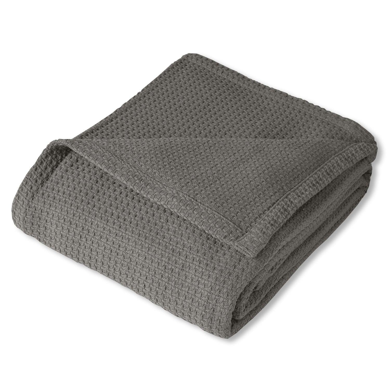 Bed Bath More: Bed Bath N More 100-percent Cotton Basket Weave Blanket