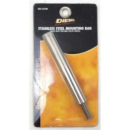Barjan 36053700 Mount Bar Stainless Steel Pin Bird Perch - image 1 of 1