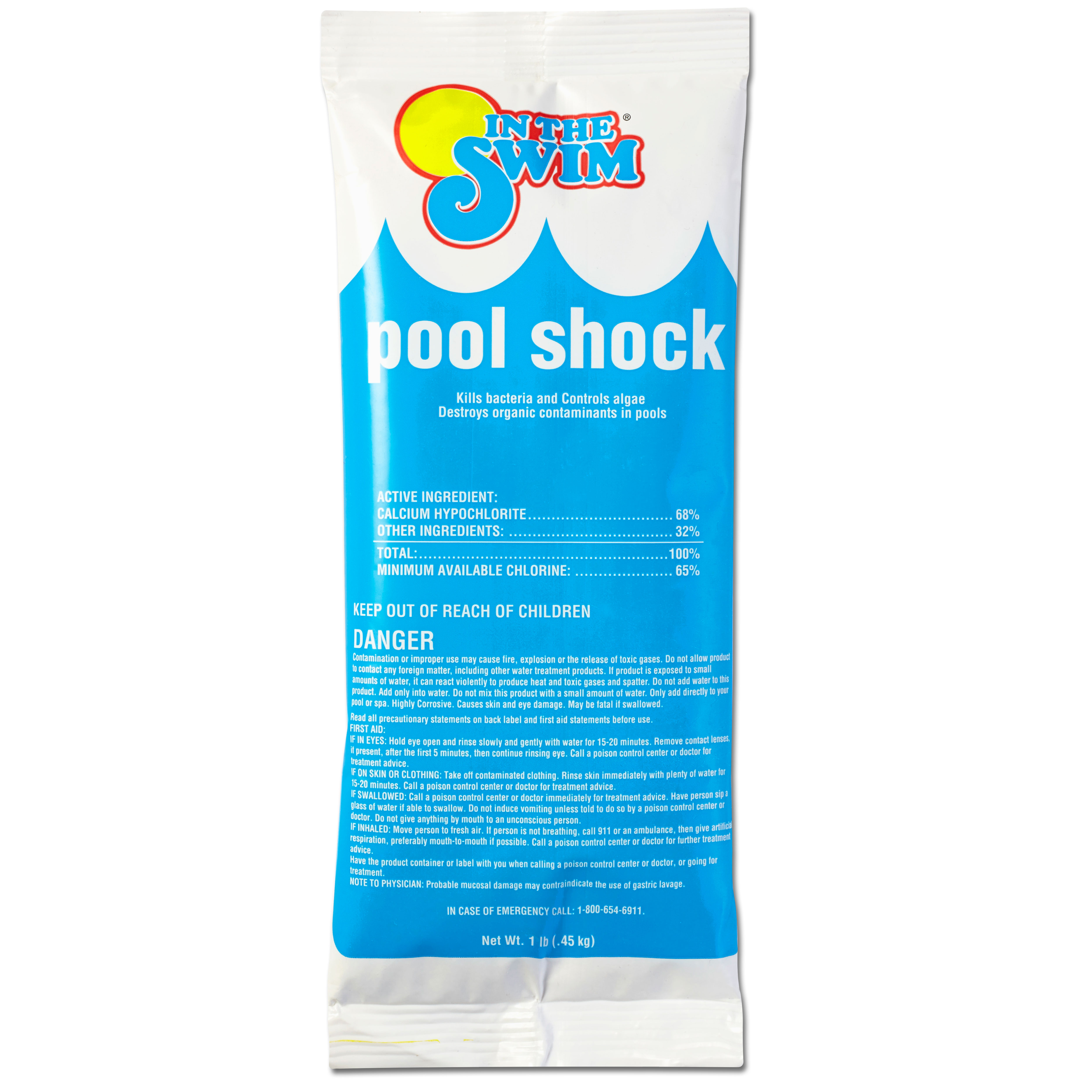 In The Swim Chlorine Pool Shock - 24 X 1 lb. bags