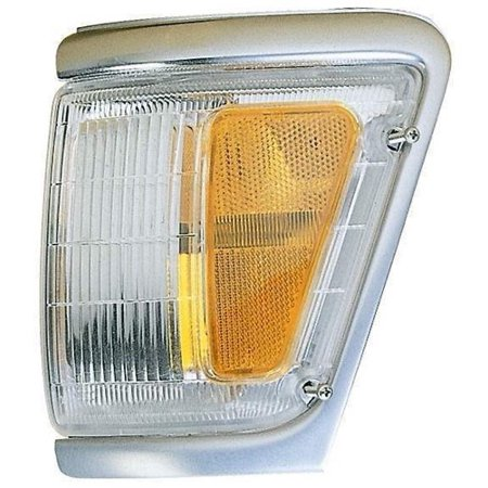 Go-Parts OE Replacement for 1992 - 1995 Toyota Pickup Parking Light Assembly / Lens Cover - Right (Passenger) Side - (4WD) 81610-35120 TO2521131 Replacement For Toyota Pickup 4wd 1992 Toyota Pickup