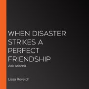 When Disaster Strikes a Perfect Friendship - Audiobook