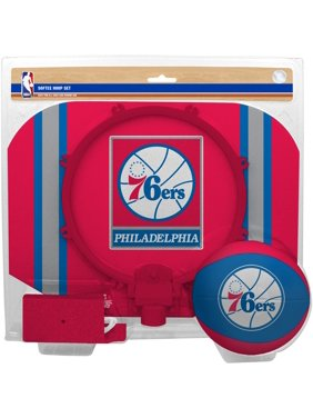 Philadelphia 76ers Rawlings Softee Hoop & Ball Set - No Size