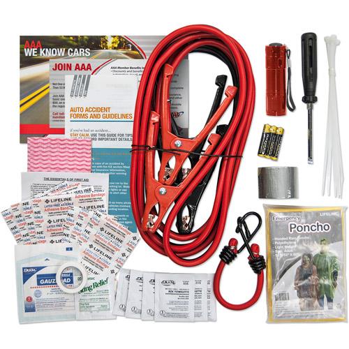Lifeline AAA Traveler Kit, 64 Pieces