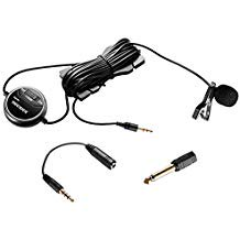 Neewer® 3.5mm Electret Condenser dB Adjusting Lavalier Microphone Clip-on Omni-directional Microphone with 2 Converter Adapter for Smartphones, DSLR, Camcorders, Audio recorder, PC (Sennheiser Me 2 Omni Directional Lavalier Ew Microphone)