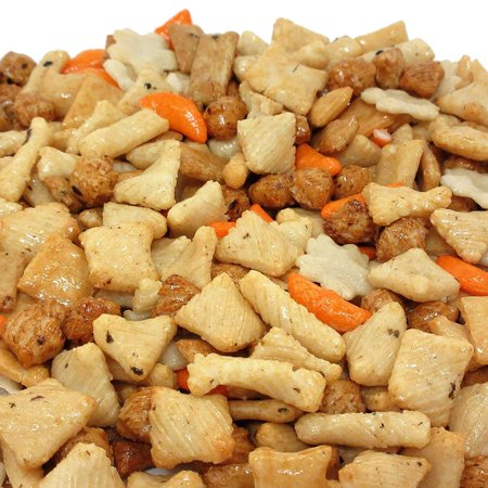 Party Rice Crackers Mix Bulk by Its Delish (5 lbs) (Barnum's Animal Crackers Bulk)