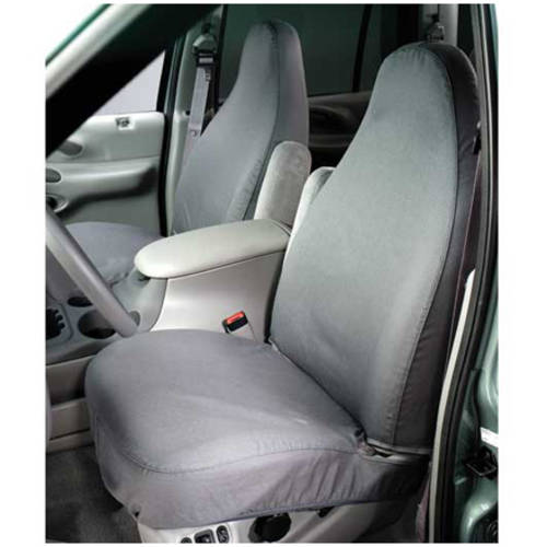Covercraft Covss2403Pcgy 09-12 Toyota Tacoma Front Bucket Seats with Ad Headrest, Fold Flat Passenger Seat