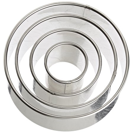 Ateco Cutter (Harold Ateco Stainless Steel Round Cookie Biscuit Pastry Kitchen Cutter Set Of 4)