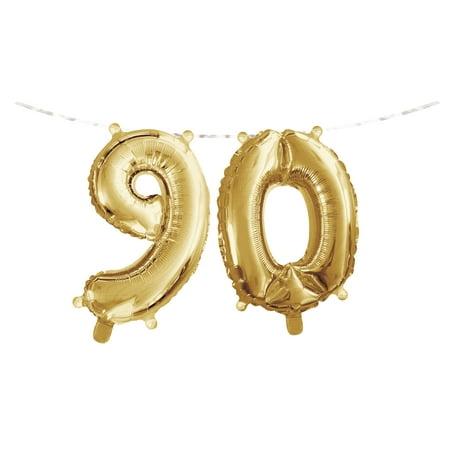 Milestone Birthday Balloon Banner 16