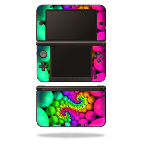 MightySkins Protective Vinyl Skin Decal Cover for Nintendo 3DS XL Original (2012-2014 Models) Sticker Wrap Skins Hallucinate