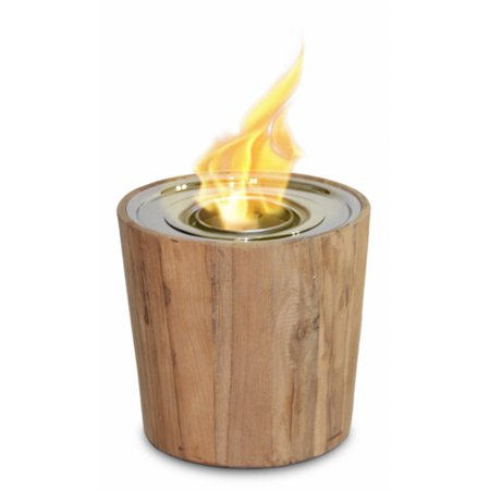 Anywhere Fireplace Sag Harbor Teak Indoor / Outdoor Fire Bowl