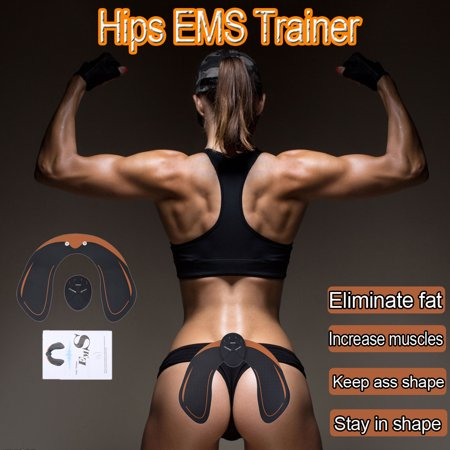 New Magic EMS Muscle Training Equipment ABS Trainer Smart Gym Fit Hip