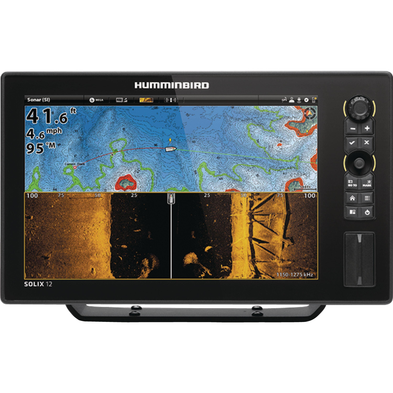 Humminbird 410400-1 SOLIX 12 CHIRP MEGA SI GPS Sonar Fishfinder & Chartplotter with MEGA Down & MEGA Side... by Humminbird