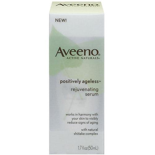 Johnson & Johnson Aveeno Active Naturals Positively Ageless Rejuvenating Serum, 1.7 oz