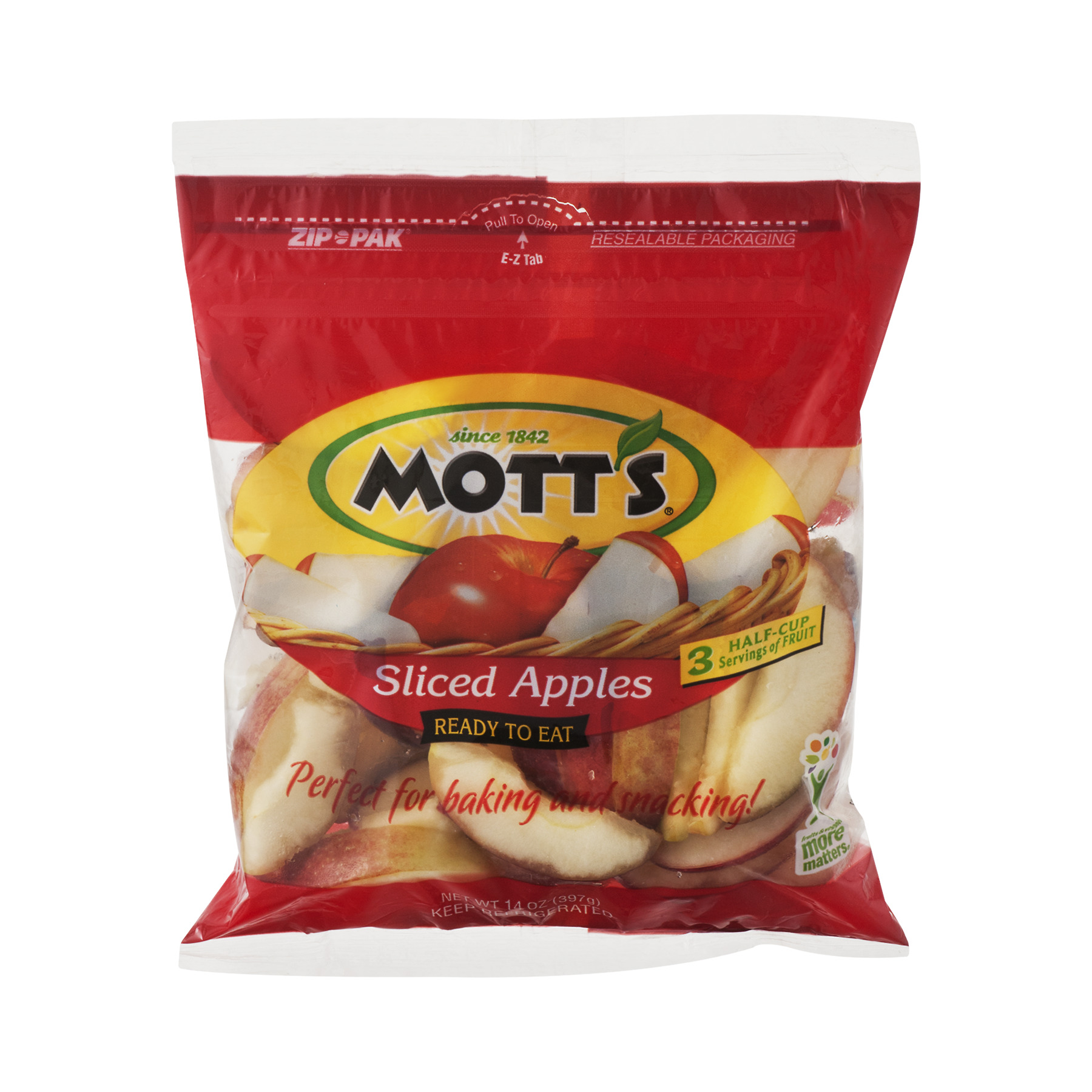 MOTTS SLC SNGL FRT APL BAG