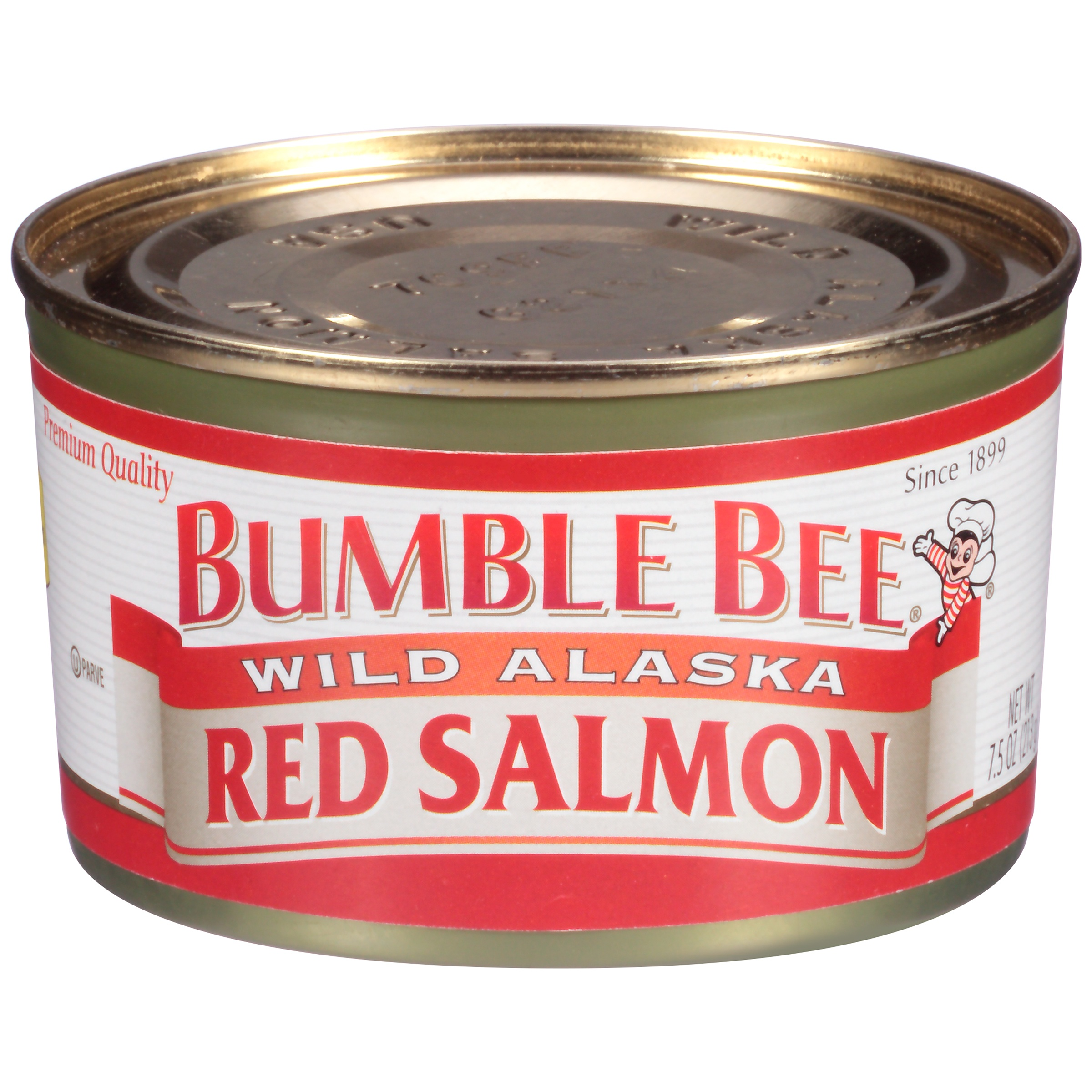 Bumble Bee Wild Alaskan Red Salmon, Ready to Eat Salmon, High ...