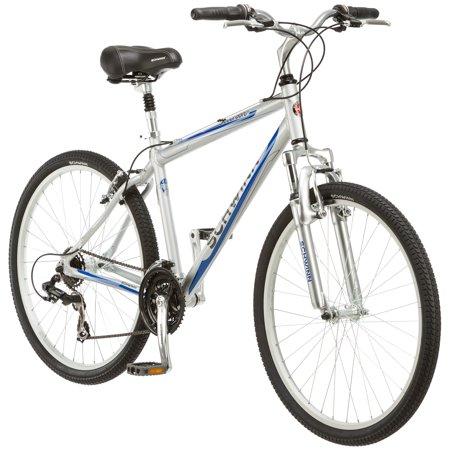Schwinn Mens 21 Speed Suburban 26   Upright Comfort Cruiser Frame Hybrid Bike