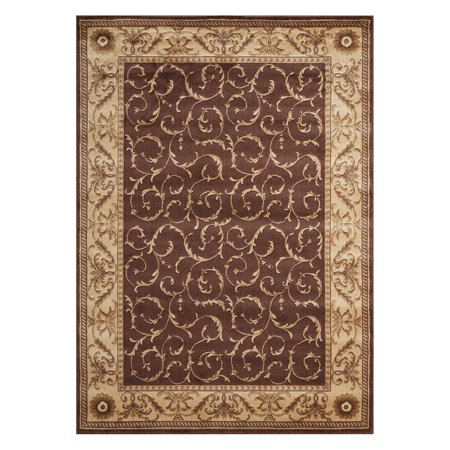 Nourison Somerset Scrollwork Decorative Woven Rug