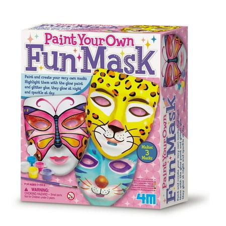 4M Paint Your Own Fun Masks Kit