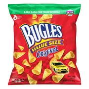 Bugles Nacho Cheese Flavor Crispy Corn Snacks, 14.5 oz